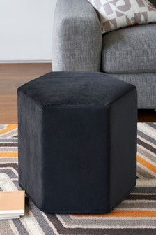 Hexagonal Velvet Drum