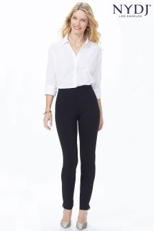 NYDJ Black Stretch Jersey Ankle Trouser