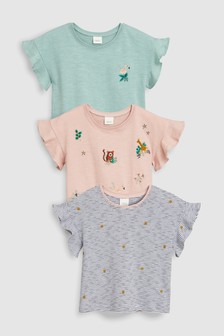 Animal T-Shirts Three Pack (3mths-7yrs)