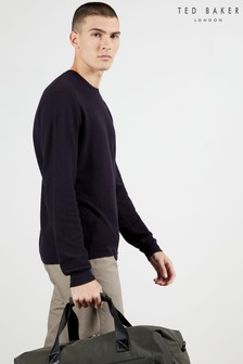 Ted Baker Staylay Textured Crew Neck Jumper