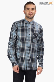 Regatta Black Lazare Long Sleeve Shirt