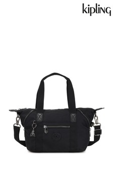 Kipling Black Art Mini Rich Handbag