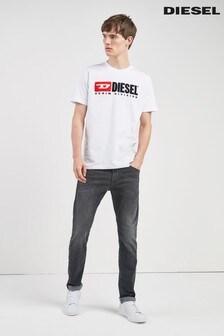Diesel® Black Wash 687J Thommer Skinny Fit Jean