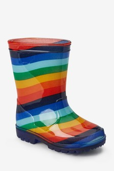Stripe Wellies (Younger)