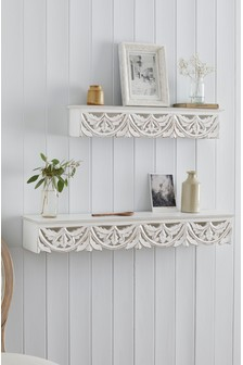 Carved Vintage Shelf