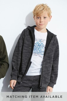Interlock Zip Through Hoody (3-16yrs)