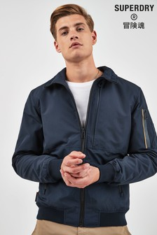 Superdry Navy Light Bomber