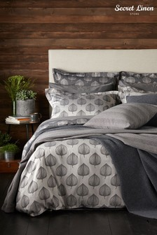 Secret Linen Store Hazel Cotton Duvet Cover
