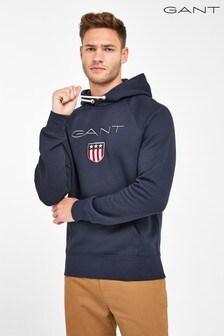 GANT Navy Gant Shield Hoody