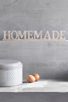 Homemade Decorative Word