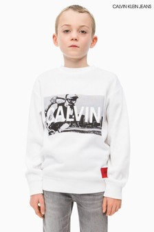 Calvin Klein Jeans Boys BMX Photo Sweatshirt