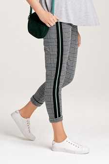 Pantalon de jogging à carreaux de maternité