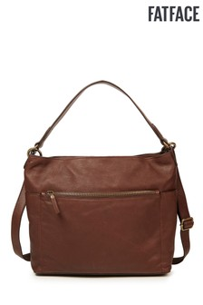 FatFace Chocolate Sophia Slouchy Bag