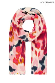 Accessorize Blurred Floral Blanket Scarf