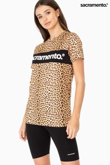 חולצת טי עם הדפס מנומר של Sacramento®