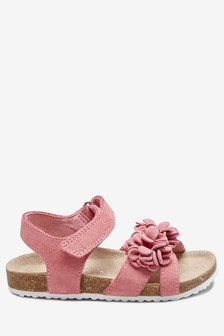 516b883b34a7 Flower Corkbed Sandals (Younger)