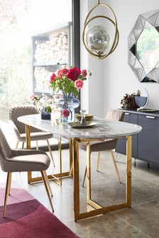 Solene Pill Oval Dining Table