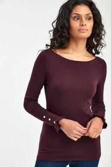 Lauren Ralph Lauren® Kahani Cotton Blend Top