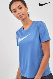 Nike Run Miler Metallic Swoosh Tee