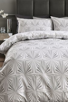 Diamond Fans Duvet Cover And Pillowcase Set