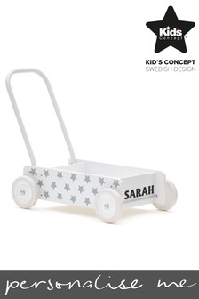 Personalised Star Baby Walker by Sweden Concepts