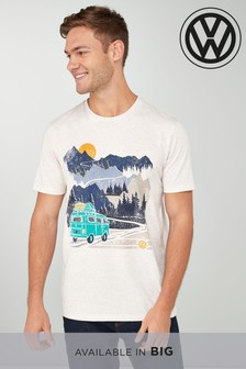 Tricou cu motive grafice Volkswagen