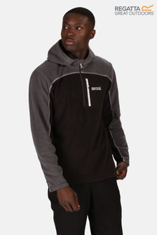 Regatta Blue Teasdale Hooded Half Zip Fleece