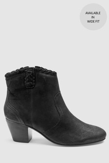 2fcb75d5cd1 Western Ankle Boots