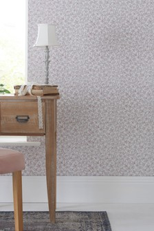 Paste The Wall Scattered Floral Wallpaper