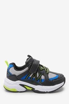 Массивные кроссовки с эластичными шнурками (Младшего возраста)