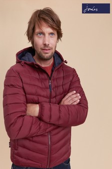 Joules Purple Hooded Padded Jacket