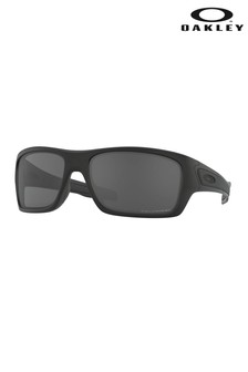 Oakley® Black Turbine Sunglasses