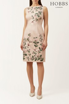 Hobbs Pink Fiona Dress