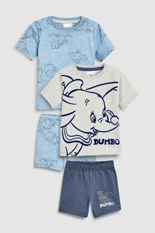 Dumbo Pyjamas Two Pack (9mths-8yrs)