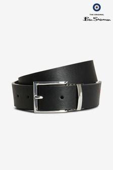 Ben Sherman® Black/Navy Reversible Belt