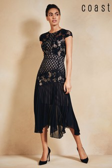 Coast Black Wendy Lace Dress