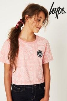 Hype. Bandana Crop T-Shirt