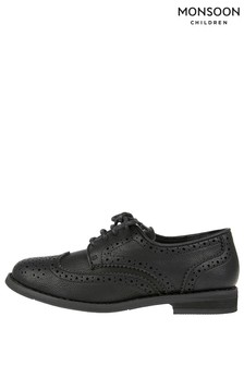 Monsoon Black Boy Brogue