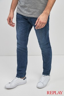 Replay® Anbass Super Stretch Slim Fit Jean