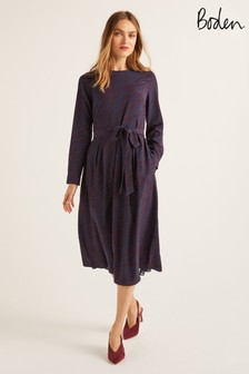 Boden Red Lydia Dress