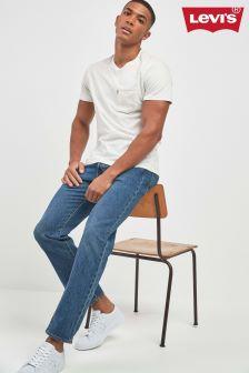 Sprane dżinsy z prostymi nogawkami Levi's® 501® In Bleu Eyes