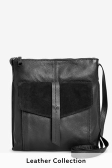 e30643616c Leather Messenger Bag