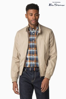 Ben Sherman® Natural Script Harrington Jacket