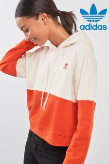adidas Originals Ecru Colourblock Hoody