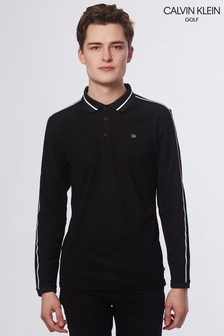 Calvin Klein Golf Black Form Polo