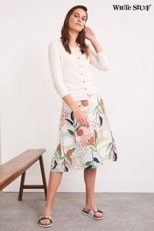 White Stuff Sprouting Reversible Skirt