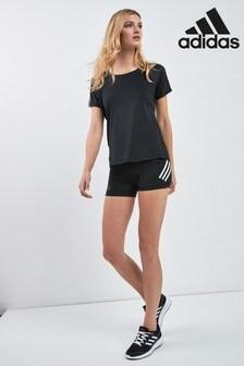 adidas Alpha Skin Shorts mit 3 Streifen, Schwarz