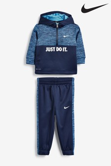 Nike Infant Navy JDI. Overhead Hoody And Joggers Set