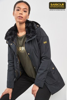 Barbour® International Black Garrison Jacket