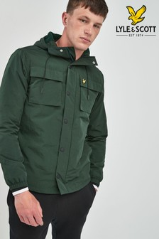 Lyle & Scott Green Pocket Jacket